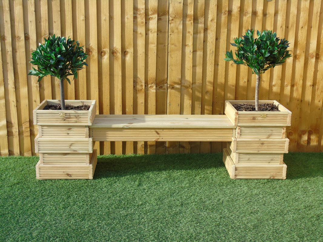 Make Design Your Own Garden Seating Area Planters