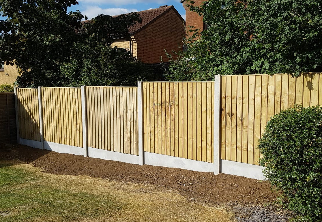 Intermediate Concrete Fence Posts Milton Keynes