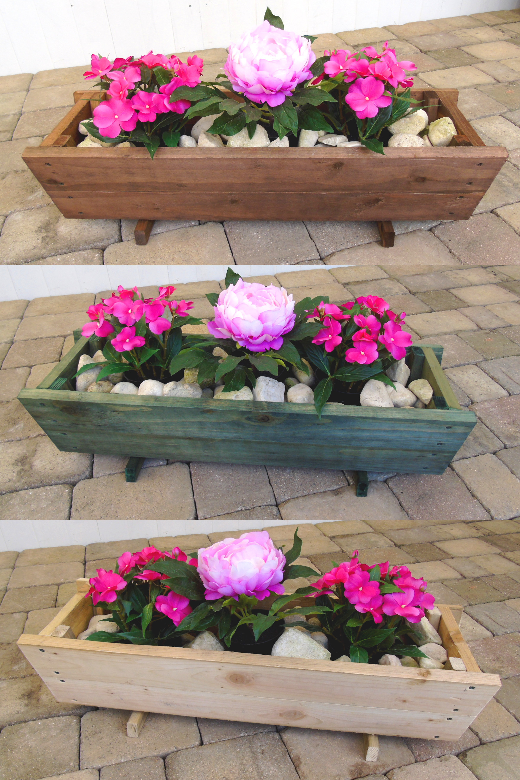 Tapered Trough Pot Planter 80 X 24cm
