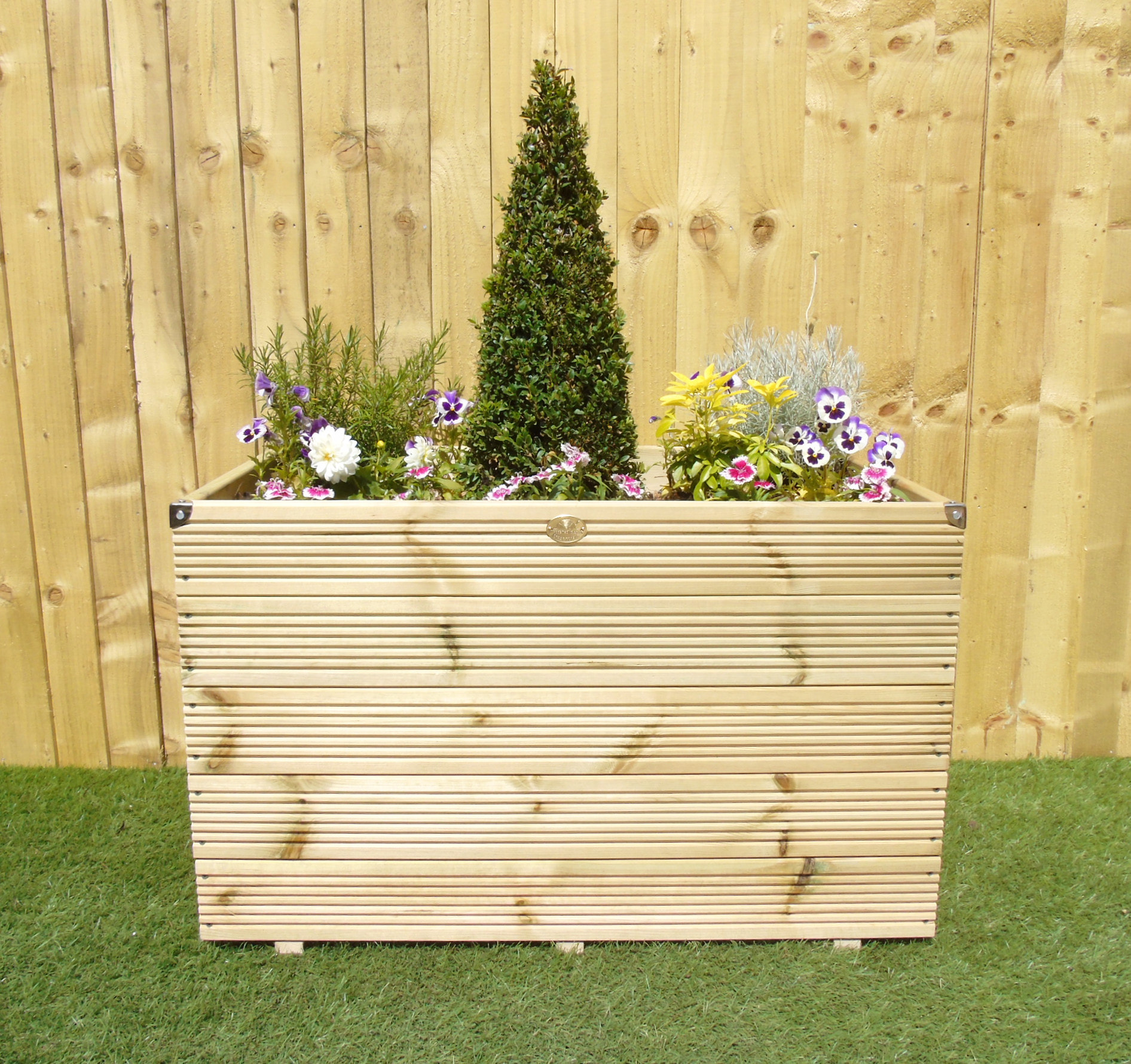 Extra Large Commercial Decking Planters